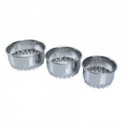 SET 3 PCS CORTAGALLETA